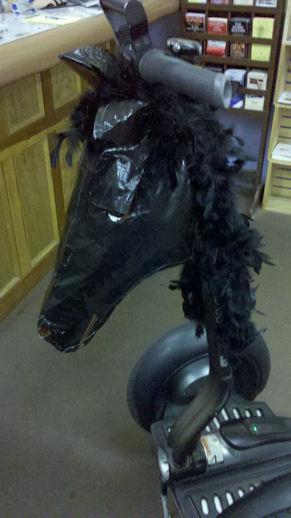 Jessie's excellent hand-made horse