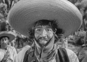 "Badges?We ain't got no badges.We don't need no badges!""I don't have to show you no stinkin' badges!""  &nbsp-Treasure of Sierra Madre"